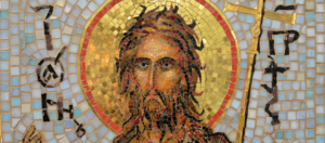 Иоанн Предтеча. Икона из мозаики