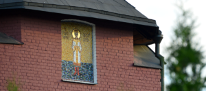 Царевич Алексей. Икона из мозаики